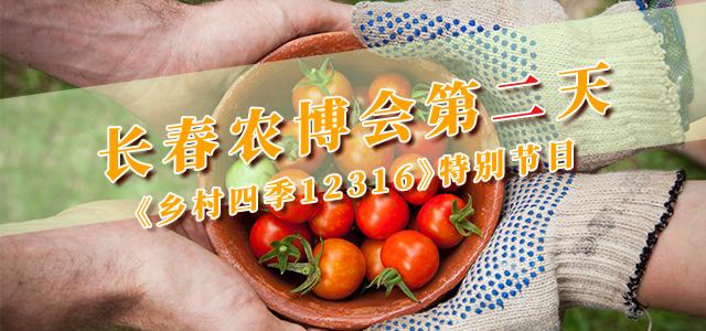 长春农博会第二天丨《乡村四季12316》特别节目