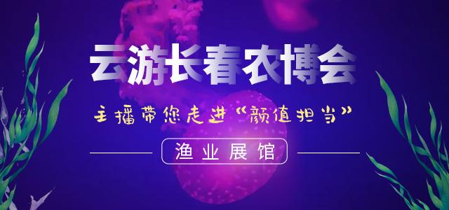 """云游长春农博会丨主播带您走进""""颜值担当""""——渔业展馆"""